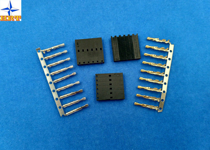 Single Row 2.54mm Pitch Battery Connectors Male Connector Wire to Board Crimp Style connector
