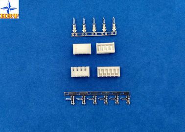 Single Row 2.5mm PCB Board-in Connectors Brass Contacts Side Entry type Crimp Connectors