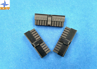 Dual Row Wire To Wire Connectors Low-Halogen Molex 43025 Micro-Fit 3.0 Receptacle Housing