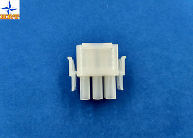 چین 6.35mm Pitch Wire To Wire Connectors Triple Row PA66 Material Crimp type Power Connector کارخانه
